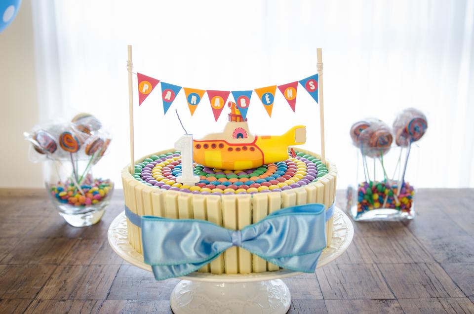 decoracao festa infantil yellow submarine:Festa Yellow Submarine – Bagagem de MãeBagagem de Mãe