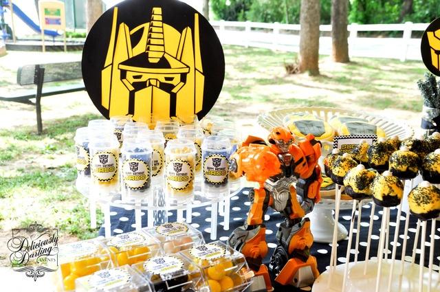 Festa Transformers  Bagagem de MãeBagagem de Mãe