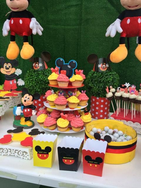 Festa Mickey e Minnie  Bagagem de MãeBagagem de Mãe