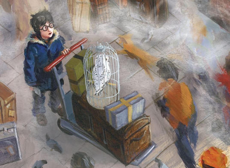 Harry Potter É A Pedra Filosofal throughout harry potter: 5 livros que todo fã precisa ter - bagagem de